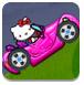 凯蒂粉红赛车