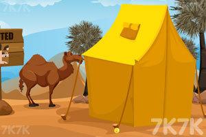 《沙漠寻宝逃脱》游戏画面1