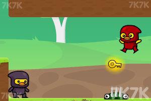 《忍者鸭历险记》游戏画面4