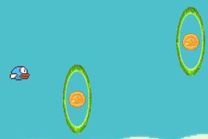 《飞翔的小鸟吃金币》游戏画面1