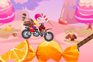 《甜蜜女孩摩托之旅2》游戏画面1