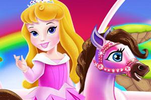 公主照顾小马