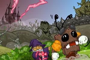 《树精和巫师》游戏画面1