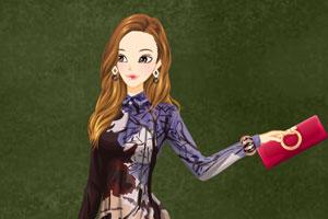 《可爱女孩的换装》游戏画面1