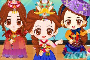 《阿sue之古典韩装2》游戏画面1