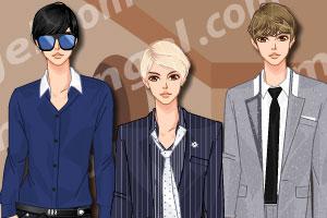《韩版时尚正装》游戏画面1