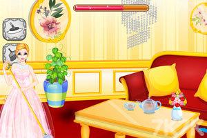 《打扫公主房间》游戏画面2