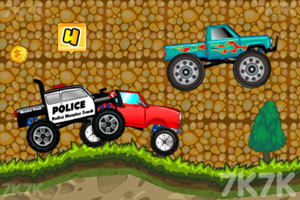 《大卡车狂飙赛》游戏画面4