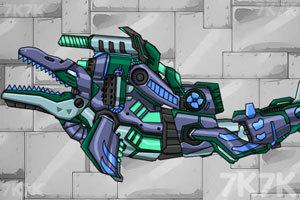 《组装机械鱼龙》游戏画面2