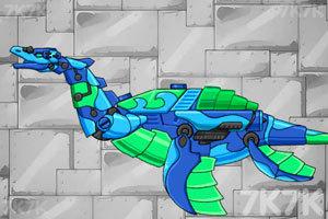 《组装机械鱼龙》游戏画面3