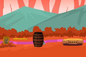《红色鹦鹉逃出笼子》游戏画面1