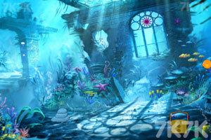 《水下海豚逃脱》游戏画面2