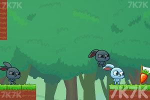 《小兔子的影分身》游戏画面5