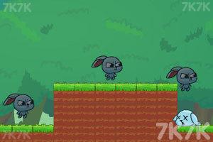 《小兔子的影分身》游戏画面3