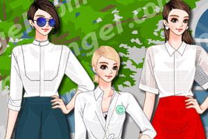 《时尚白领上衣》游戏画面1