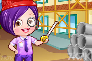 《可爱宝贝当建筑师》游戏画面1