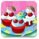 多彩的蛋糕烹飪