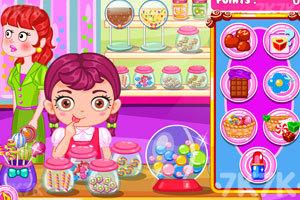 《宝贝糖果店偷懒》游戏画面1