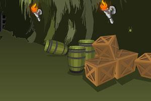 《逃离潮湿的洞穴》游戏画面1