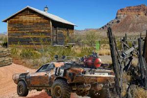 《逃离沙漠山谷》游戏画面1