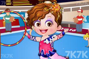 《可爱宝贝当体操运动员》游戏画面2