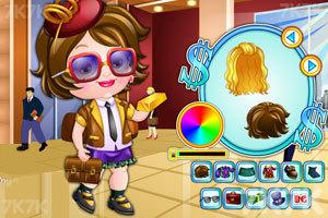 《可爱宝贝的商业装》游戏画面1