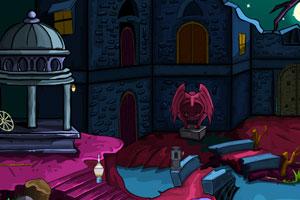 《逃出破旧的城堡》游戏画面1