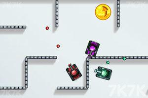 《坦克动荡加强版》游戏画面2