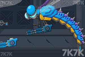 组装机械蜻蜓