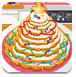 圣诞节的蛋糕树