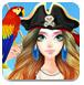 美女的海盗装扮