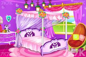 《粉色公主房》游戏画面1