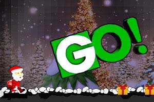 《奔跑的圣诞老人》游戏画面1