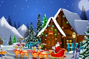 《找回丢失的圣诞礼物》游戏画面1