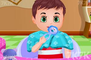 《宝贝丽丝一家新发型》游戏画面2