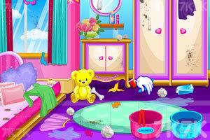 《娃娃屋清洁》游戏画面5