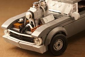 《乐高玩具赛车拼图》游戏画面1