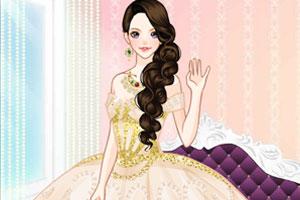 公主的新娘礼服