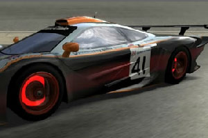 《迈凯轮F1赛车拼图》游戏画面1