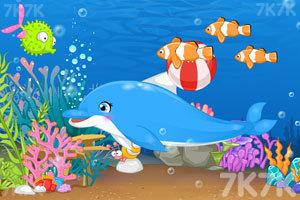 《海豚表演馆》游戏画面3