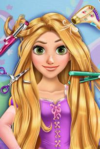 长发公主的百变发型