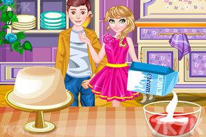 《浪漫的情人节晚餐》游戏画面3