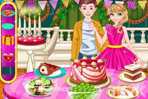 《浪漫的情人节晚餐》游戏画面1