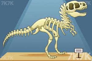 《组装恐龙标本》游戏画面4