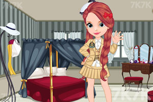 《索菲亚小公主开学了》游戏画面1