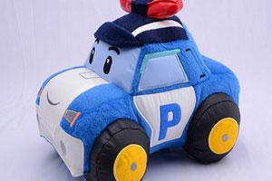 玩具警车拼图