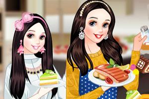公主的厨师装