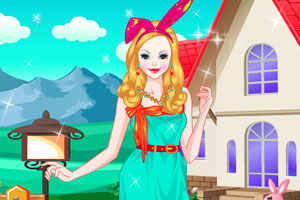 复活节女孩的打扮