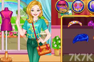 《贝贝的时尚博客》游戏画面2