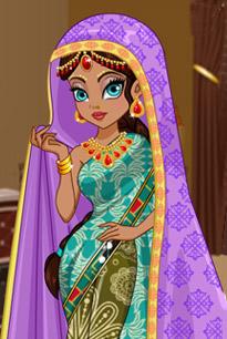 漂亮的印度服饰